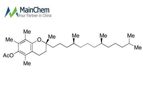 DL-α-Tocopherol acetate   CAS 7695-91-2